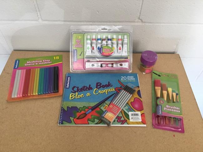 Craft & Drawing Supplies