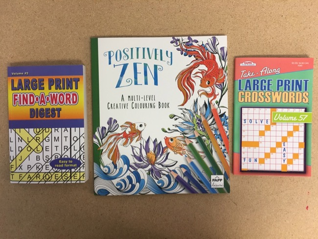 Adult Coloring & Puzzle Books