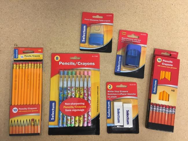Pencils & Accessories
