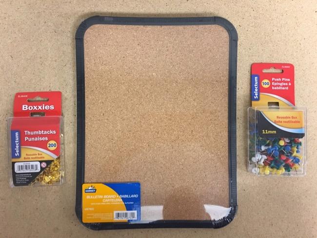 Bulletin Boards & Tacks