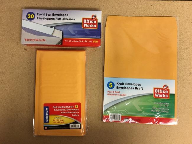 Envelopes & Organizers