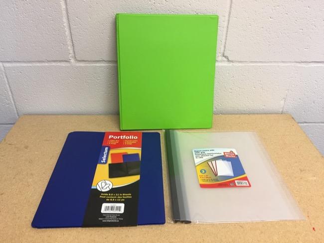 Binders, Duotangs & Paper