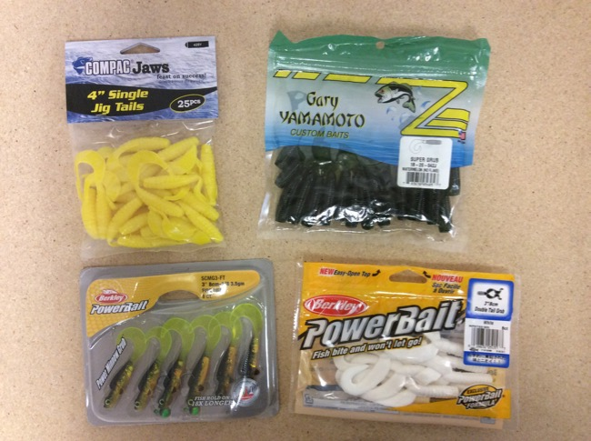 Soft Plastics & Grubs