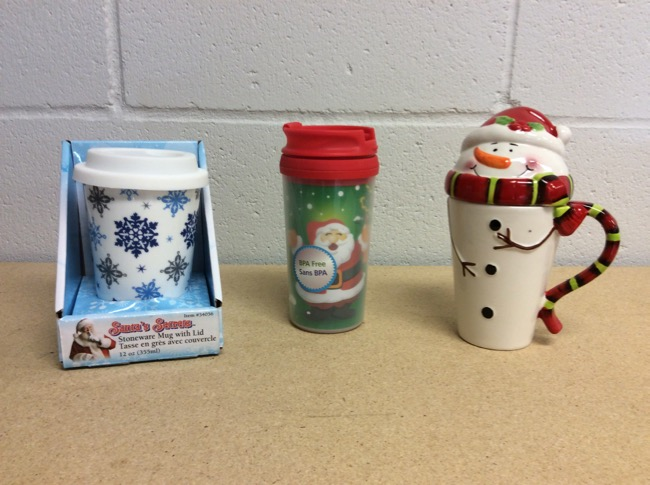 Christmas Cups & Mugs