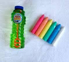 Bubbles & Chalk