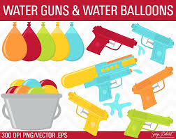 Water Guns & Balloons