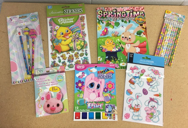 Coloring/Crafts/Stickers