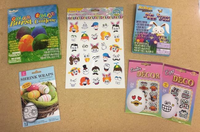 Egg Dye Kits & Accessories