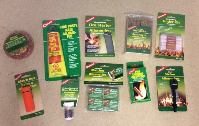 Fire Starters & Lighters