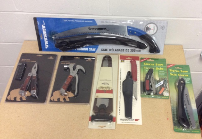 Knives, Saws & Tools
