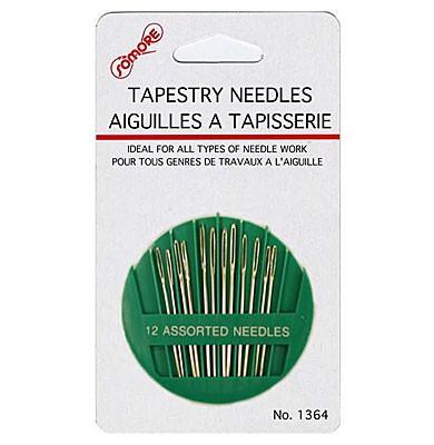 Tapestry Needles ~ 12 per pack