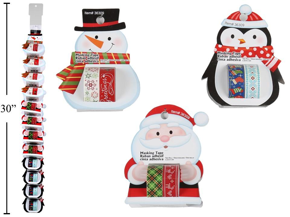 Christmas Masking Tape ~ 2 per pack