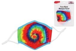Kid Size Cloth Face Mask - 3 Layer ~ Tie Dye