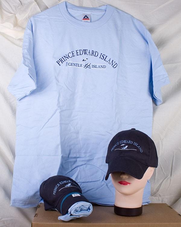 Prince Edward Island Ball Cap & T-Shirt Combo ~ Beach Chair