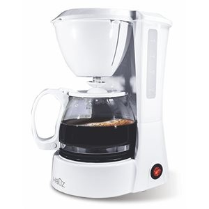 Coffee Maker - 5 Cups ~ White