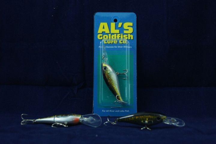 Al's Goldfish Dilly Diver - 1/4oz ~ Golden Shiner