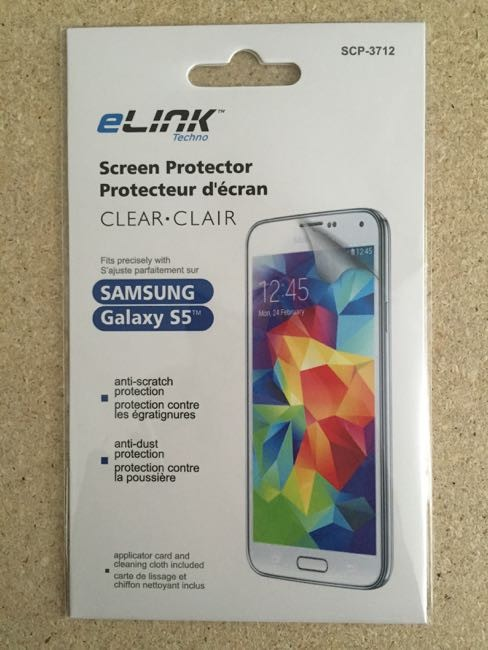 Samsung S5 LCD Screen Protector