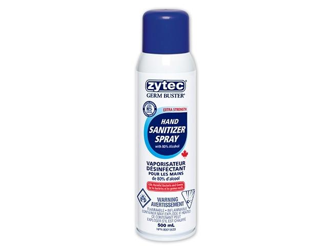 Zytec Spray Hand Sanitizer - 80% alcohol ~ 500ml