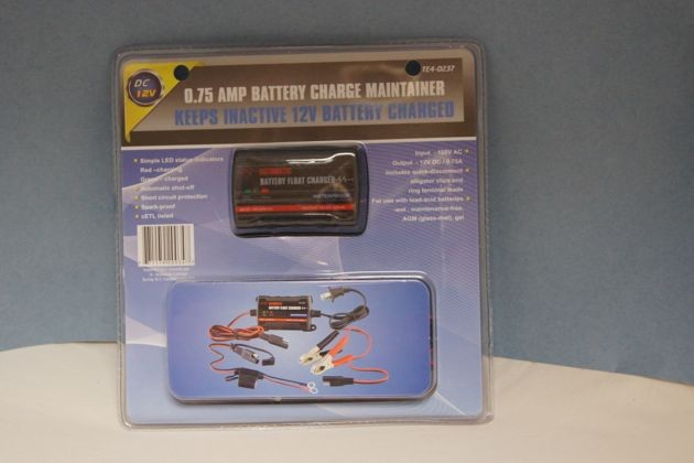 Battery Maintainer ~ 0.75AMP