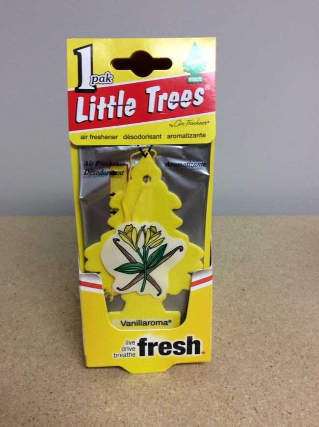 Little Tree Air Fresheners ~ Vanillaroma