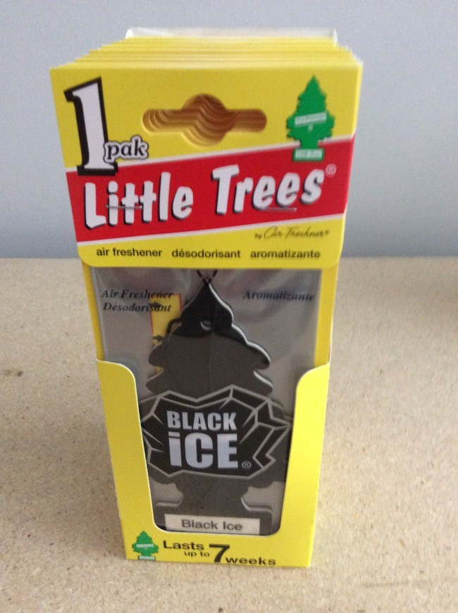 Little Tree Air Fresheners ~ Black Ice