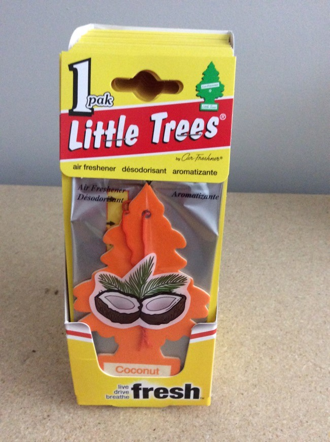 Little Tree Air Fresheners ~ Coconut