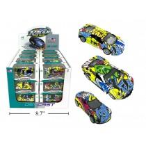 Graffiti Print Die-Cast Cars