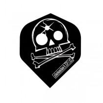 Metronic Flights ~ Black Skull & Bones