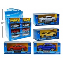 Die-Cast Super Car with Pull Back Action