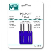 Ball Point Sewing Machine Needles - Assorted Sizes ~ 4 per pack