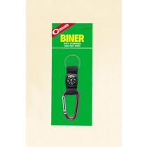 Coghlan's Biner w/Compass & Key Ring