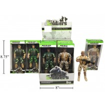 "8"" Soldier Action Figure"