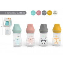 Tootsie Baby Matte Baby Bottle ~ 4oz