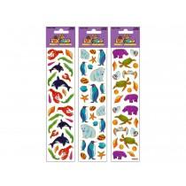 Woody's Micro Stickers ~ Marine Animals