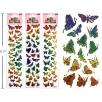 Woody's Micro Stickers ~ Butterflies