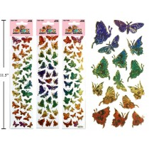 Woody's Micro Stickers ~ Butterflies
