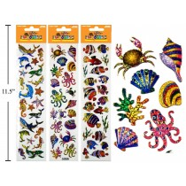 Woody's Micro Stickers ~ Sea Animals