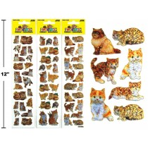 Woody's Micro Stickers ~ Kittens