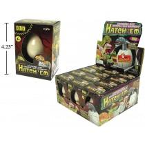 Hatch'em Growing Dino Eggs ~ 12 per display