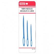 Plastic Yarn Needle ~ 3 per pack