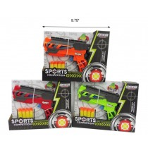Toy Air Gun w/4 Suction Bullets
