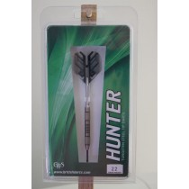 Hunter ~ Double Knurl Grip 80% Tungsten Darts