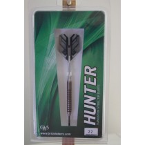 Hunter ~ Ringed Grip 80% Tungsten Darts