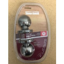 Entry Door Knob with Lock ~ Pewter