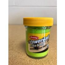 Berkley PowerBait Glitter Trout Bait ~ Chartreuse