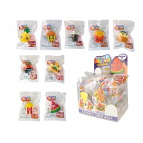 Mini Squeez'ems Keychains - 9 assorted ~ 18 per display