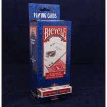 Bicycle Poker Playing Cards ~ 12 gravity display pack