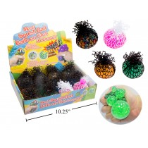 Squishy Mesh Water Bead Balls - 6cm ~ 12 per display