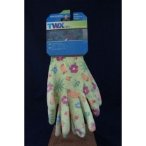 Gardening Gloves w/PU Coating ~ Size Large