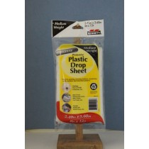 Bennett Plastic Drop Sheet - Medium Weight ~ 8' x 12'